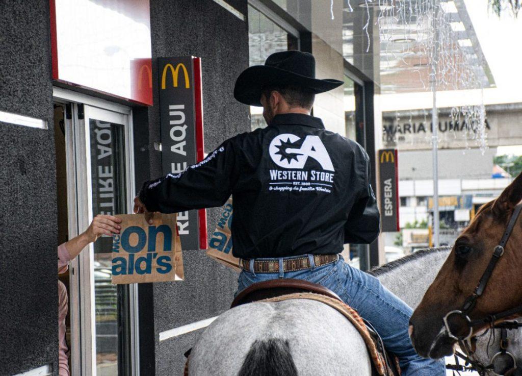 GA Western Store e McDonald's