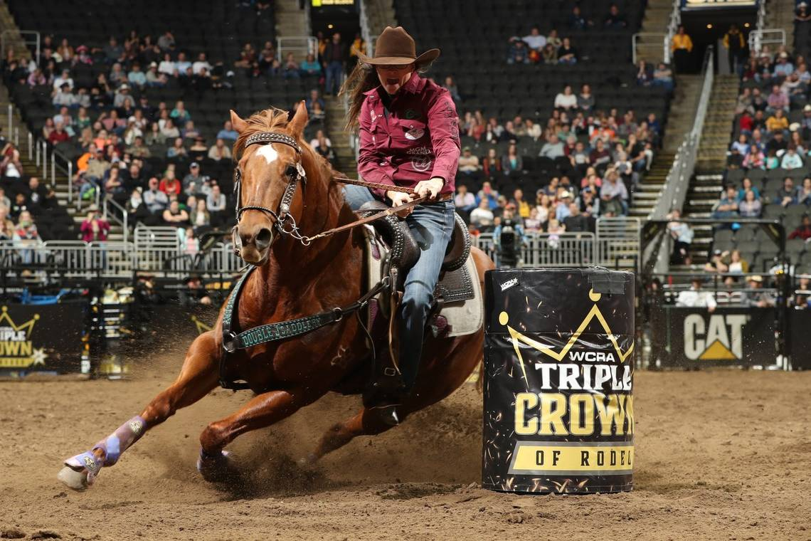 Brittany Pozzi Rodeo Cowgirl WCRA