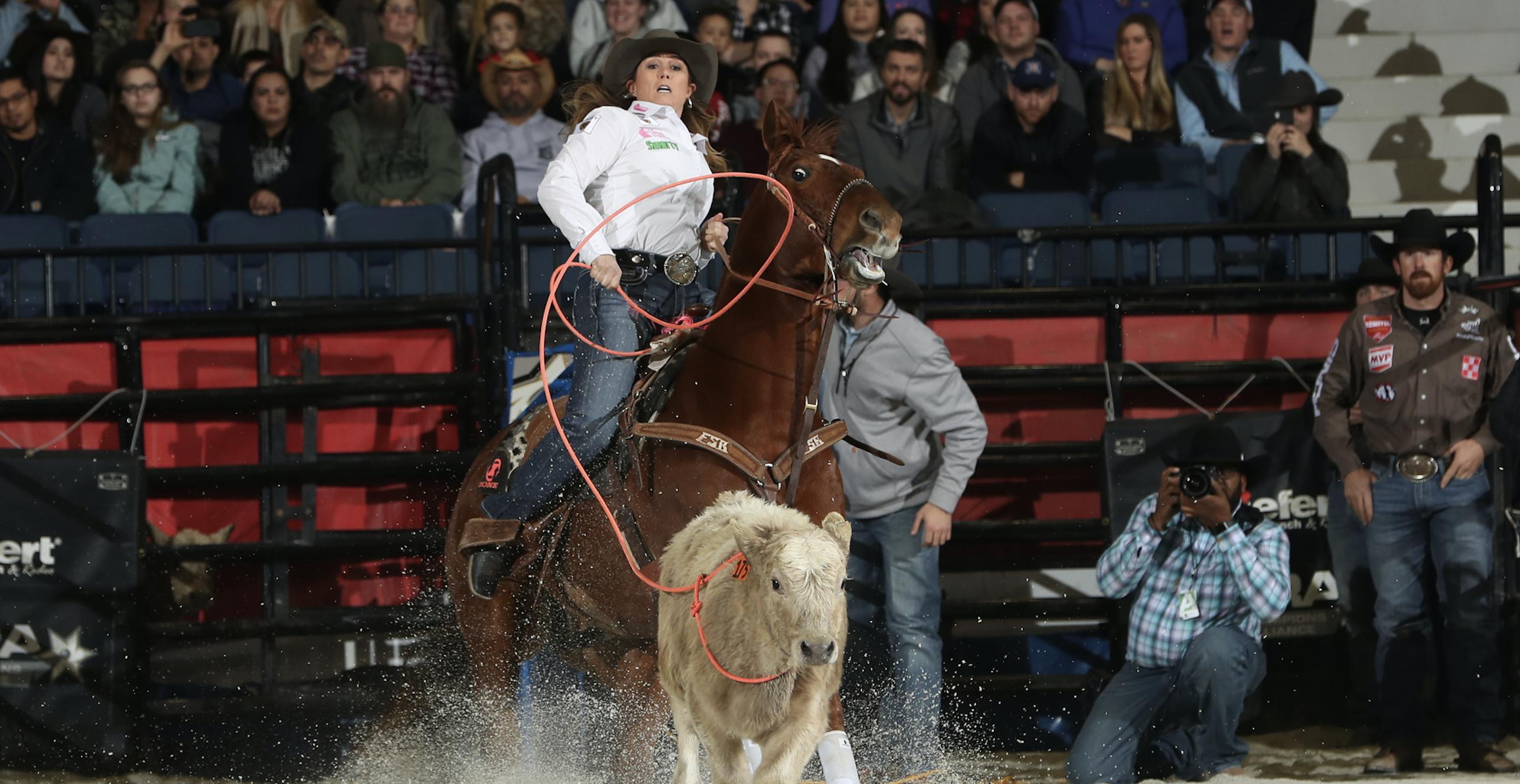 WCRA Breakaway Roping Womans Rodeo Championship