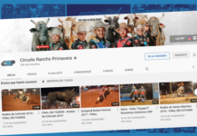 Maior canal de rodeio no YouTube